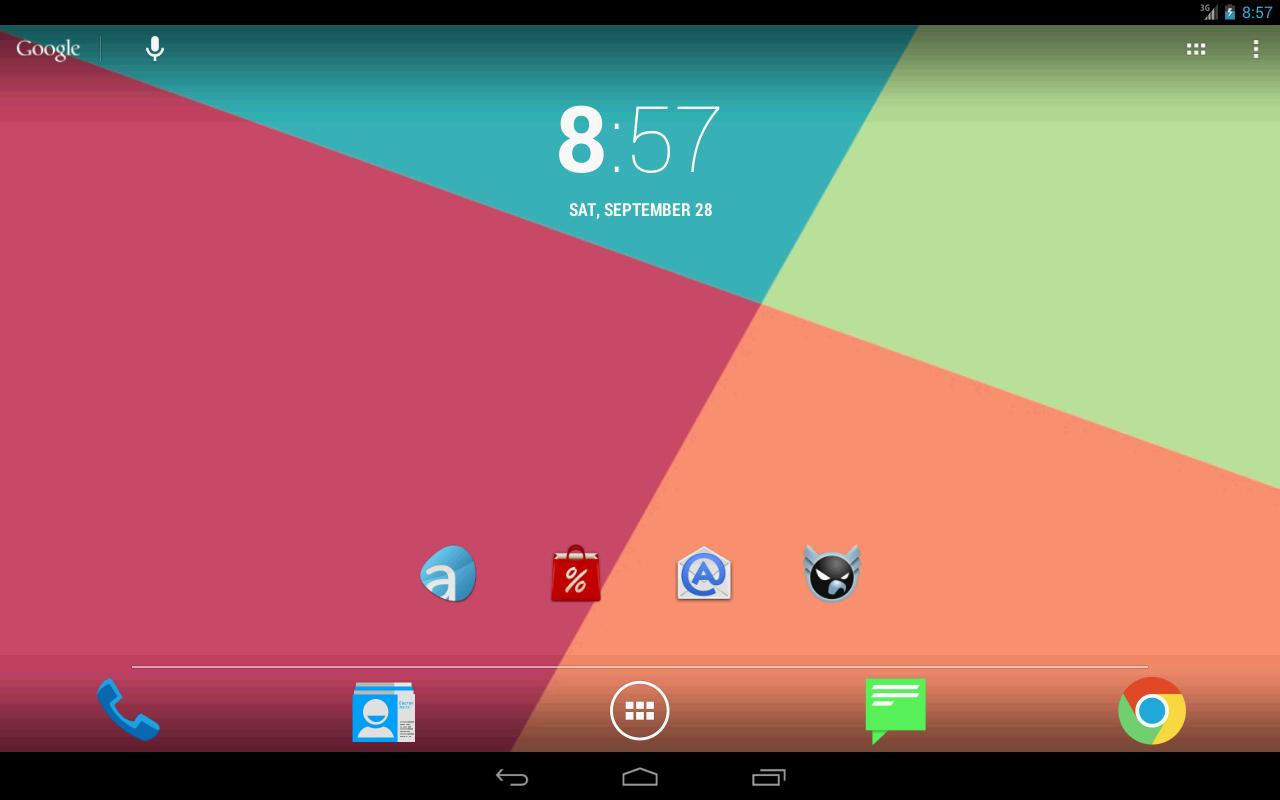 Android 4.4 Kitkat Theme v2.3