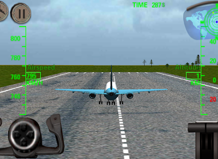 Game 3D Airplane Flight Simulator APK for Kindle