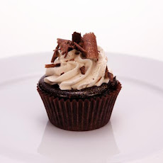 Chocolate Cupcakes with a Chocolate, Orange and Clove Infused Ganache Filling and a Chinese Spiced Tea Buttercream