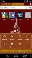 Screenshot of Christmas Boat Browser Theme
