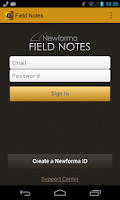 Screenshot of Field Notes
