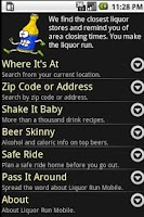 Screenshot of Liquor Run Mobile