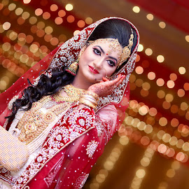 Bridal Beauty by Saidur Rahman Russel - Wedding Bride ( colour, wedding, ornament, bride, culture )