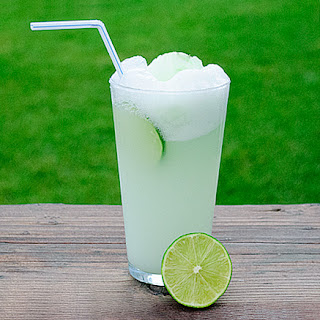 Fresh Lime Sherbet Float
