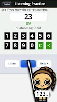 Screenshot of Learn French Numbers, Fast!