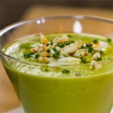 Avocado Soup With Lump Crabmeat