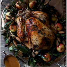 Herb Roasted Turkey with Apple Cider Sauce