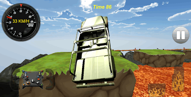 Screenshot of World Car Drive Race Jeep 4x4