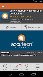 AccuTech Systems Conferences - screenshot