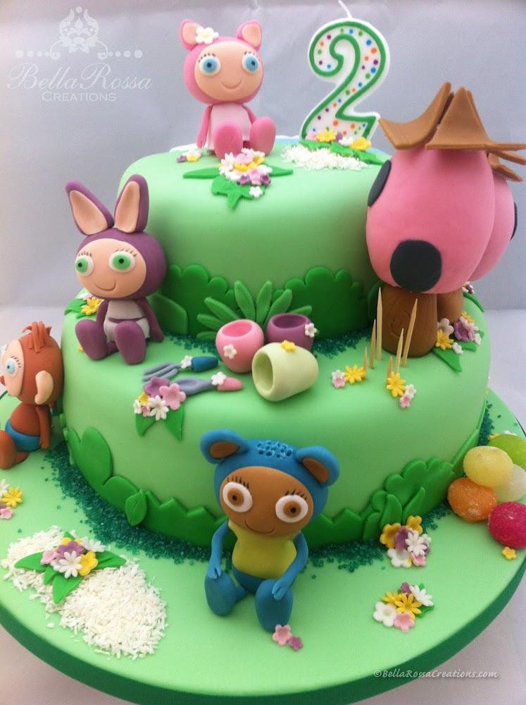 Waybuloo themed 2-tier cake