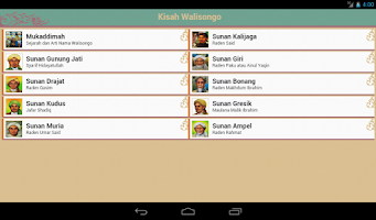 Screenshot of Kisah Walisongo