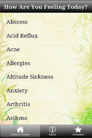 My Natural Healer