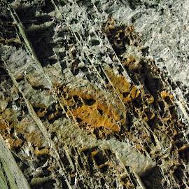 Breitachklamm by Christiane Baur - Nature Up Close Rock & Stone ( water, old, breitachklamm, stone, rough, mountains, germany, allgäu, cut, rocks, stoneformation, hard, river, formation,  )