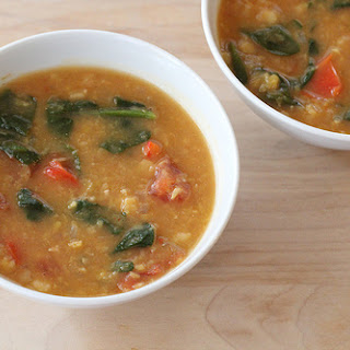 Vegetarian Yellow Split Pea Soup