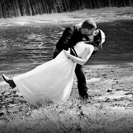 by Julie Sampson Sell - Wedding Bride & Groom