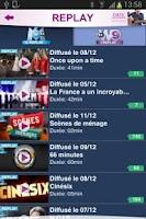Screenshot of M6 mobile