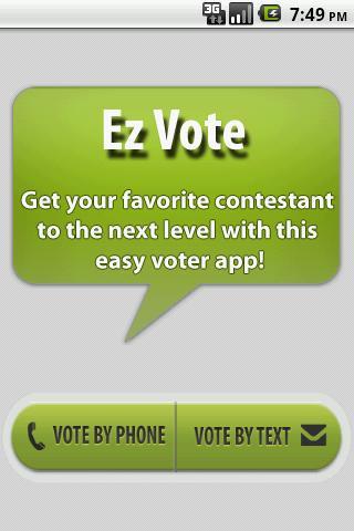 EZ Voter