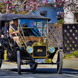 Old Ford by Vibeke Friis - Transportation Automobiles ( car, centennial celebrations, classic,  )