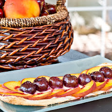 Peach and Cherry Tarts