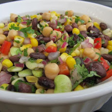 South-West Salad With Corn and Black Beans