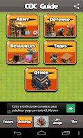 Screenshot of COC Guide