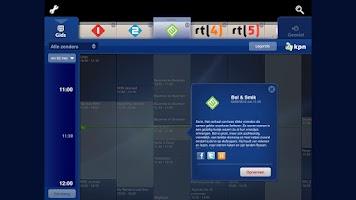 Screenshot of Oude versie KPN TV
