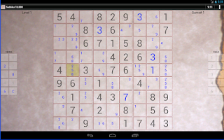 Screenshot of Sudoku 10,000 Trial