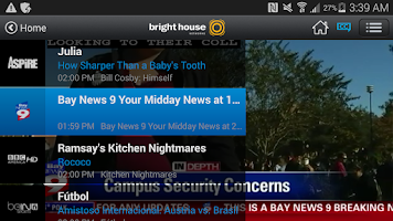 Screenshot of Bright House TV