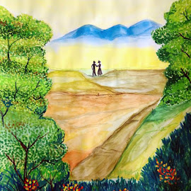 Dream Love by Vamshi Pandari - Painting All Painting