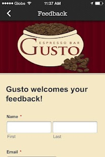 Gusto Espresso Bar - screenshot