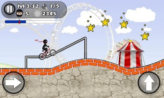Screenshot of BMX STUNTS