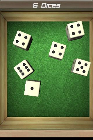 dice-roll-free for android screenshot