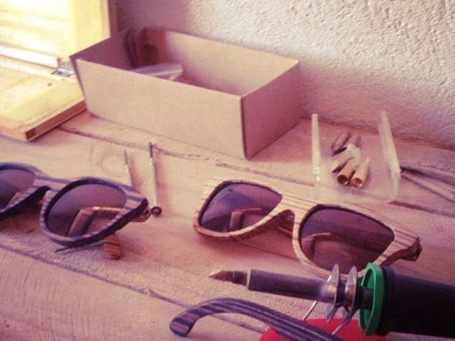gafas hand made
