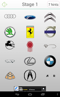 Screenshot of Logo Quiz Cars