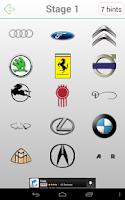 Screenshot of Logo Quiz Cars