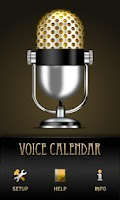 Screenshot of Voice Calendar