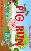 Screenshot of Pig Run Game