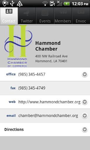 Hammond Chamber