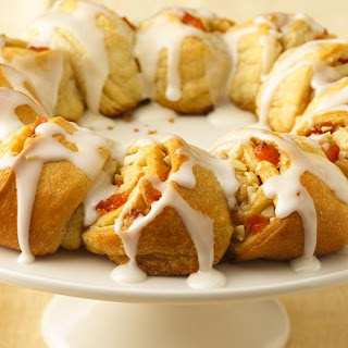 Almond-Apricot Crescent Ring