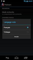 Screenshot of Offline French Czech Dict.
