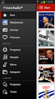 Screenshot of Polskie Radio