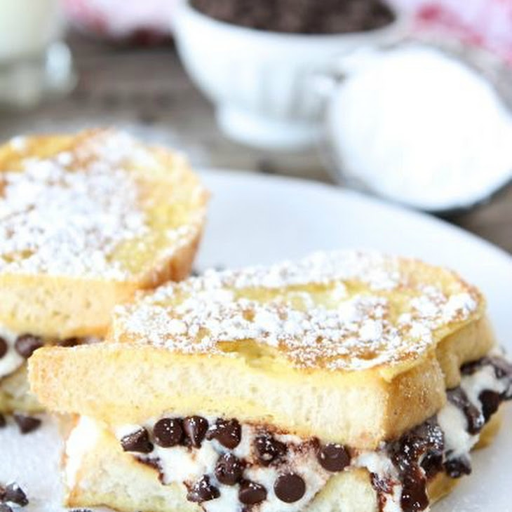 Cannoli Stuffed French Toast Recipe | Yummly