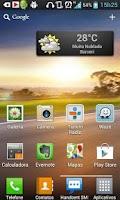 Screenshot of Previsão do Tempo