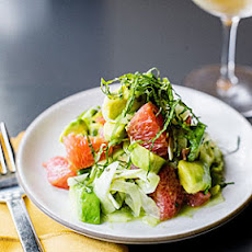 Avocado, Grapefruit, and Shiso Salad