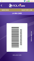 Screenshot of InViola Card