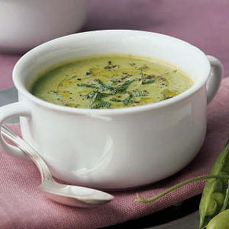 Fresh Pea Soup with Mint Recipe | Yummly