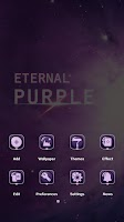 Screenshot of Eternal Purple GO Theme