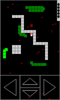 Screenshot of Snake. Survival
