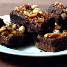 Peanut Brittle Brownies