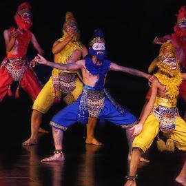 monkey's dance by Tt Sherman - News & Events Entertainment ( yogyakarta, ramayana, ballet, prambanan, dance )
